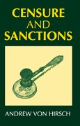 Cover for Censure and Sanctions