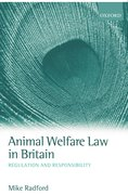 Cover for Animal Welfare Law in Britain