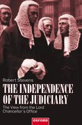 Cover for The Independence of the Judiciary
