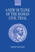 Cover for A New Outline of the Roman Civil Trial