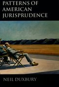 Cover for Patterns of American Jurisprudence