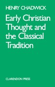 Cover for Early Christian Thought and the Classical Tradition