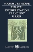 Cover for Biblical Interpretation in Ancient Israel