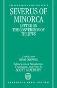 Cover for Severus of Minorca: <em>Letter on the Conversion of the Jews</em>