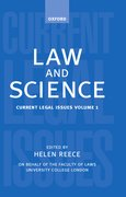 Cover for Law and Science