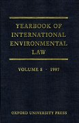 Cover for Yearbook of International Environmental Law