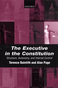 Cover for The Executive in the Constitution