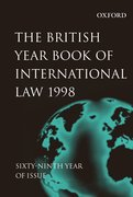 Cover for British Year Book of International Law