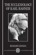 Cover for The Ecclesiology of Karl Rahner