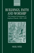 Cover for Buildings, Faith, and Worship