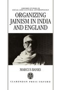 Cover for Organizing Jainism in India and England