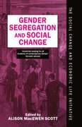 Cover for Gender Segregation and Social Change