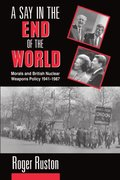 Cover for A Say in the End of the World
