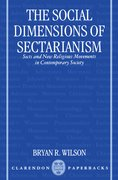 Cover for The Social Dimensions of Sectarianism
