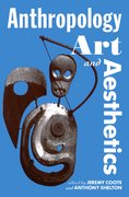 Cover for Anthropology, Art, and Aesthetics