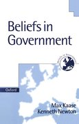 Cover for Beliefs in Government