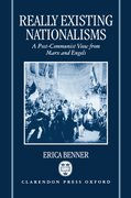 Cover for Really Existing Nationalisms