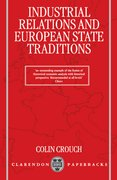 Cover for Industrial Relations and European State Traditions