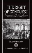 Cover for The Right of Conquest