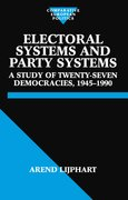 Cover for Electoral Systems and Party Systems