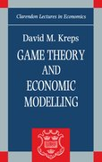Cover for Game Theory and Economic Modelling