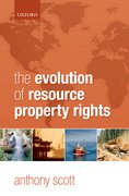 Cover for The Evolution of Resource Property Rights