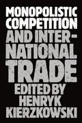 Cover for Monopolistic Competition and International Trade