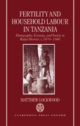 Cover for Fertility and Household Labour in Tanzania