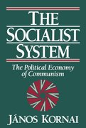 Cover for The Socialist System
