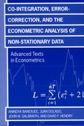 Cover for Co-integration, Error Correction, and the Econometric Analysis of Non-Stationary Data