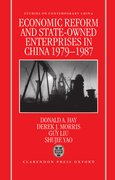 Cover for Economic Reform and State-Owned Enterprises in China 1979-87