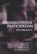 Cover for Organizational Participation