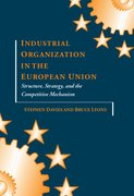 Cover for Industrial Organization in the European Union