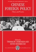 Cover for Chinese Foreign Policy
