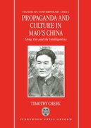 Cover for Propaganda and Culture in Mao