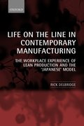 Cover for Life on the Line in Contemporary Manufacturing