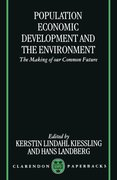 Cover for Population, Economic Development, and the Environment
