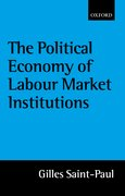 Cover for The Political Economy of Labour Market Institutions