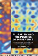 Cover for Pluralism and the Politics of Difference