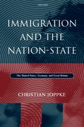 Cover for Immigration and the Nation-State