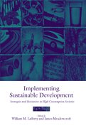 Cover for Implementing Sustainable Development