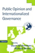 Cover for Public Opinion and Internationalized Governance