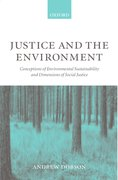 Cover for Justice and the Environment
