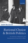 Cover for Rational Choice and British Politics