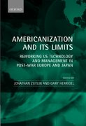 Cover for Americanization and Its Limits