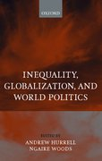Cover for Inequality, Globalization, and World Politics