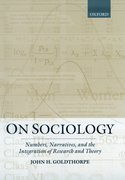 Cover for On Sociology