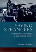 Cover for Saving Strangers