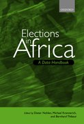 Cover for Elections in Africa