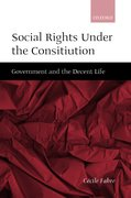 Cover for Social Rights Under the Constitution